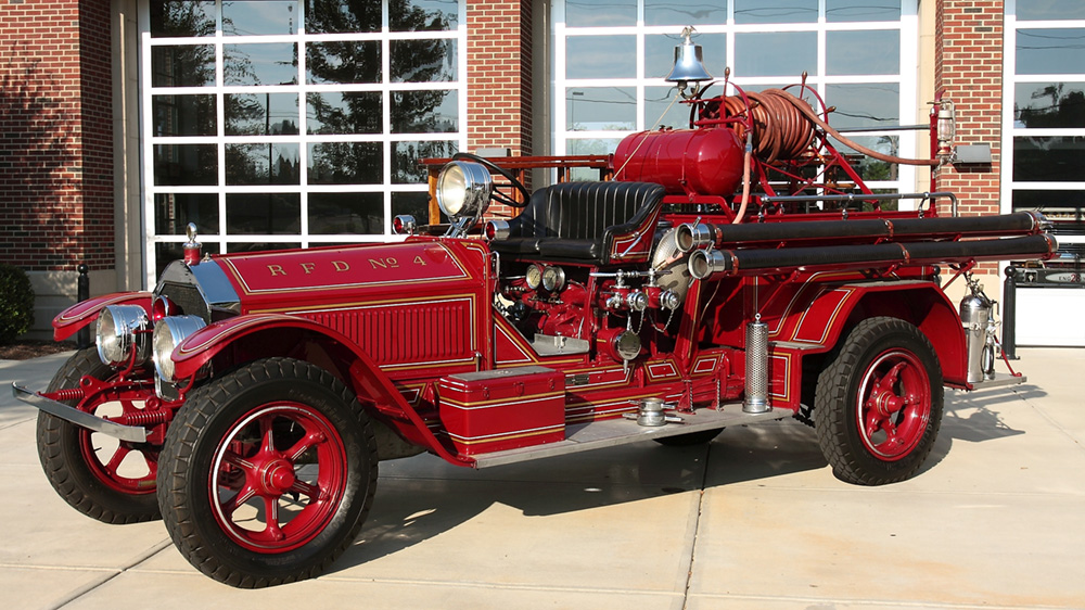 Picture of 1926 fire engine