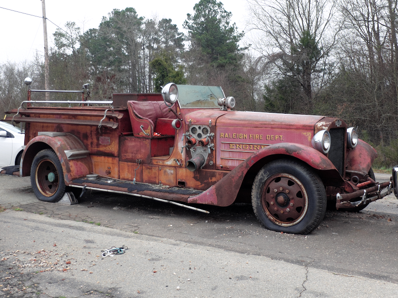 Picture of 1936 fire engine