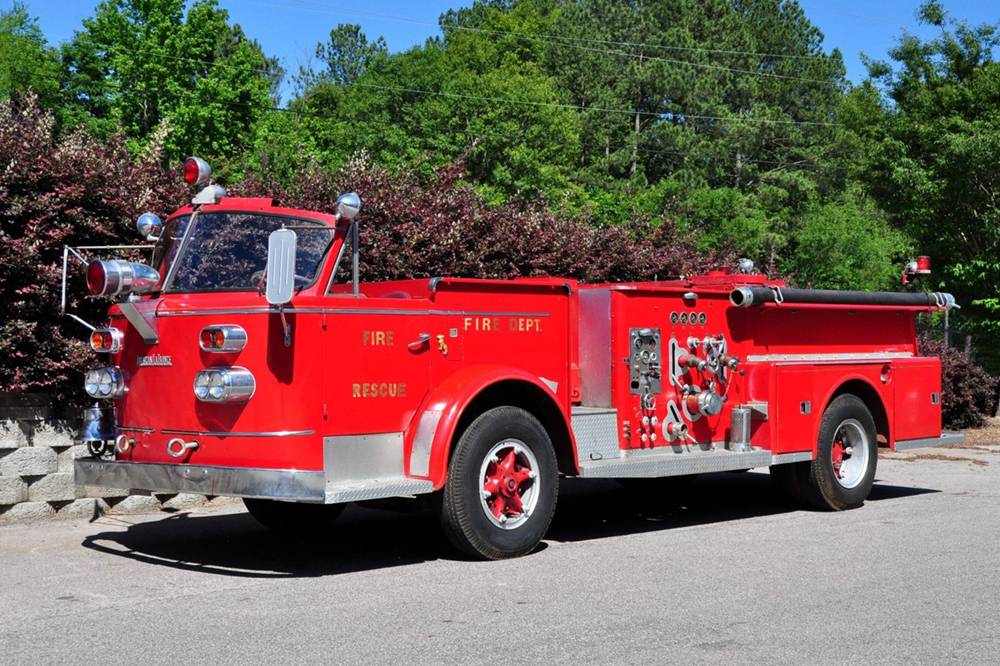 Picture of 1961 fire engine